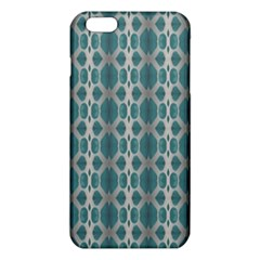 Tropical Blue Abstract Ocean Drops iPhone 6 Plus/6S Plus TPU Case