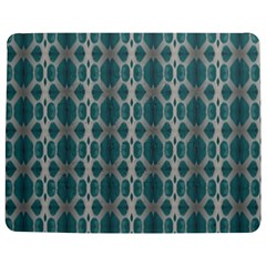 Tropical Blue Abstract Ocean Drops Jigsaw Puzzle Photo Stand (Rectangular)