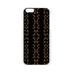 Dark Arabic Stripes Apple Seamless iPhone 6/6S Case (Transparent)