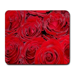 Red Roses Love Large Mousepads