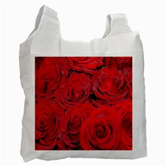 Red Roses Love Recycle Bag (Two Side)