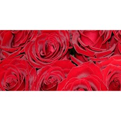 Red Roses Love You Are Invited 3d Greeting Card (8x4)