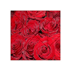 Red Roses Love Acrylic Tangram Puzzle (4  X 4 )