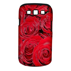 Red Roses Love Samsung Galaxy S Iii Classic Hardshell Case (pc+silicone)