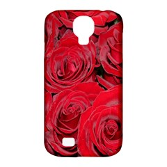 Red Roses Love Samsung Galaxy S4 Classic Hardshell Case (pc+silicone)
