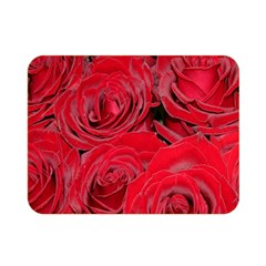 Red Roses Love Double Sided Flano Blanket (Mini)