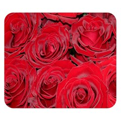 Red Roses Love Double Sided Flano Blanket (small)
