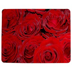 Red Roses Love Jigsaw Puzzle Photo Stand (Rectangular)
