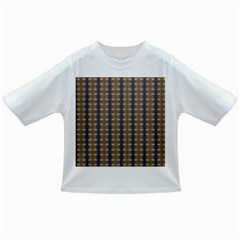 Black Brown Gold Stripes Infant/Toddler T-Shirts