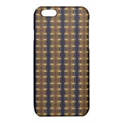 Black Brown Gold Stripes iPhone 6/6S TPU Case