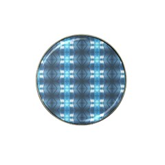 Blue Diamonds Of The Sea 1 Hat Clip Ball Marker (10 pack)