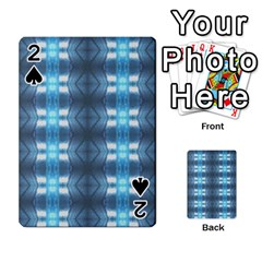 Blue Diamonds Of The Sea 1 Playing Cards 54 Designs