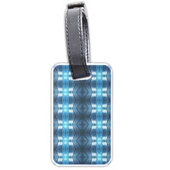 Blue Diamonds Of The Sea 1 Luggage Tags (Two Sides)