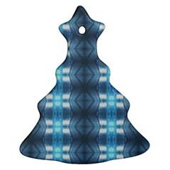 Blue Diamonds Of The Sea 1 Christmas Tree Ornament (2 Sides)