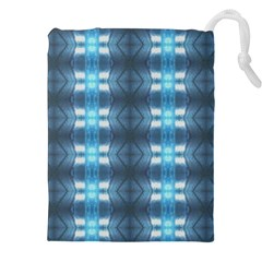 Blue Diamonds Of The Sea 1 Drawstring Pouches (XXL)