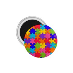 Funny Colorful Jigsaw Puzzle 1 75  Magnets