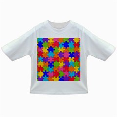 Funny Colorful Jigsaw Puzzle Infant/toddler T Shirts
