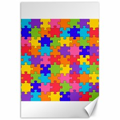 Funny Colorful Jigsaw Puzzle Canvas 20  X 30