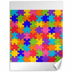 Funny Colorful Jigsaw Puzzle Canvas 36  X 48