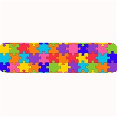 Funny Colorful Jigsaw Puzzle Large Bar Mats