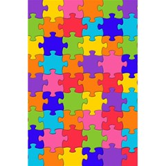 Funny Colorful Jigsaw Puzzle 5 5  X 8 5  Notebooks