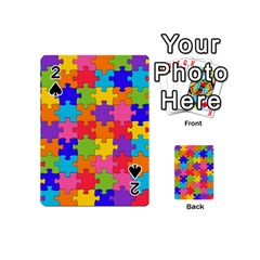Funny Colorful Jigsaw Puzzle Playing Cards 54 (mini)