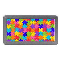 Funny Colorful Jigsaw Puzzle Memory Card Reader (mini)