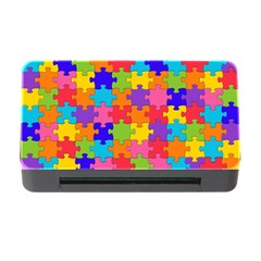 Funny Colorful Jigsaw Puzzle Memory Card Reader With Cf