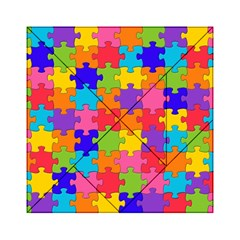 Funny Colorful Jigsaw Puzzle Acrylic Tangram Puzzle (6  X 6 )