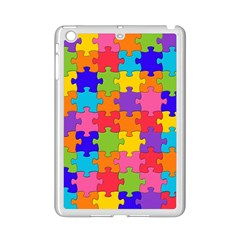Funny Colorful Jigsaw Puzzle Ipad Mini 2 Enamel Coated Cases