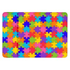 Funny Colorful Jigsaw Puzzle Samsung Galaxy Tab 8 9  P7300 Flip Case