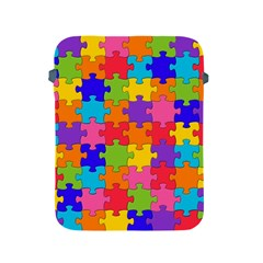 Funny Colorful Jigsaw Puzzle Apple Ipad 2/3/4 Protective Soft Cases
