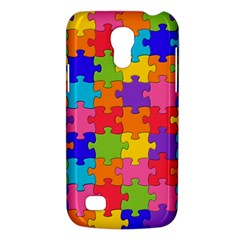 Funny Colorful Jigsaw Puzzle Galaxy S4 Mini