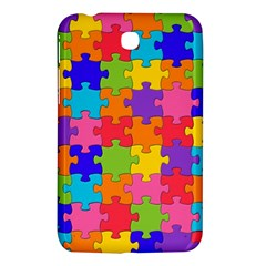 Funny Colorful Jigsaw Puzzle Samsung Galaxy Tab 3 (7 ) P3200 Hardshell Case