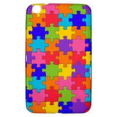 Funny Colorful Jigsaw Puzzle Samsung Galaxy Tab 3 (8 ) T3100 Hardshell Case