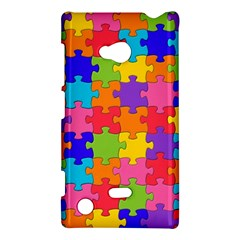 Funny Colorful Jigsaw Puzzle Nokia Lumia 720
