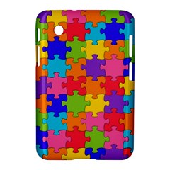 Funny Colorful Jigsaw Puzzle Samsung Galaxy Tab 2 (7 ) P3100 Hardshell Case