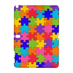 Funny Colorful Jigsaw Puzzle Samsung Galaxy Note 10 1 (p600) Hardshell Case