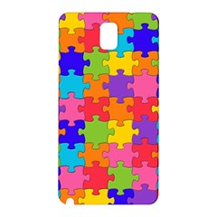 Funny Colorful Jigsaw Puzzle Samsung Galaxy Note 3 N9005 Hardshell Back Case