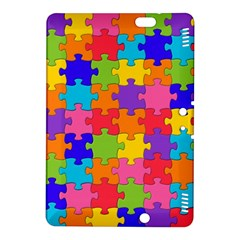 Funny Colorful Jigsaw Puzzle Kindle Fire Hdx 8 9  Hardshell Case
