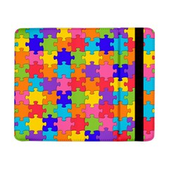 Funny Colorful Jigsaw Puzzle Samsung Galaxy Tab Pro 8 4  Flip Case