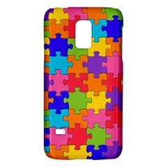 Funny Colorful Jigsaw Puzzle Galaxy S5 Mini