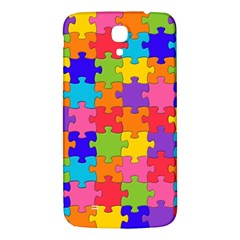 Funny Colorful Jigsaw Puzzle Samsung Galaxy Mega I9200 Hardshell Back Case