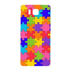 Funny Colorful Jigsaw Puzzle Samsung Galaxy Alpha Hardshell Back Case