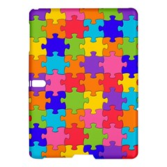 Funny Colorful Jigsaw Puzzle Samsung Galaxy Tab S (10 5 ) Hardshell Case