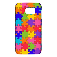 Funny Colorful Jigsaw Puzzle Galaxy S6