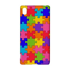 Funny Colorful Jigsaw Puzzle Sony Xperia Z3+