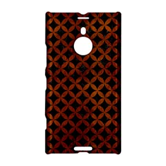 Circles3 Black Marble & Brown Burl Wood Nokia Lumia 1520 Hardshell Case