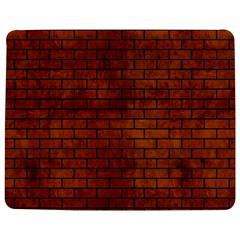 Brick1 Black Marble & Brown Burl Wood (r) Jigsaw Puzzle Photo Stand (rectangular)