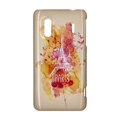 Paris With Watercolor HTC Evo Design 4G/ Hero S Hardshell Case